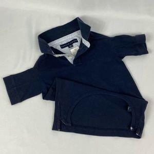 Tommy Hilfiger | Navy Blue Knit Pet Polo L